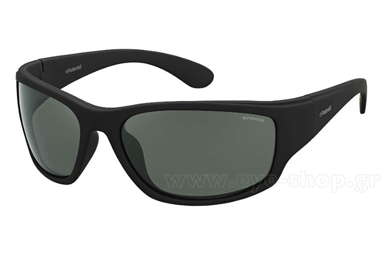ΓυαλιάPolaroidPlD 7005 SYYV  (RC)RUBBERBLK (GREEN PZ Polarized)