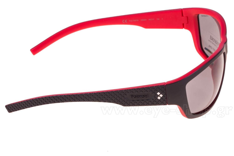 PolaroidμοντέλοPLD 7007 SστοχρώμαVRAAH BLACK RED (GREY PZ)